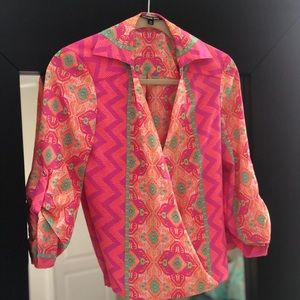 Gianni Bini quarter sleeve blouse